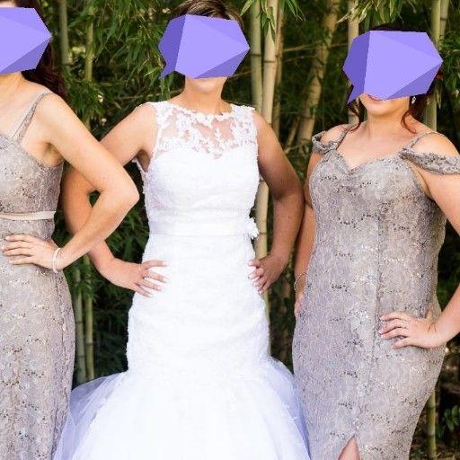 Beautiful size 34 wedding dress