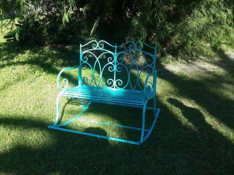 Garden Rocking Bench IRON