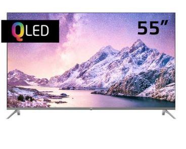 "JVC 55"" 4K QLED Android TV"