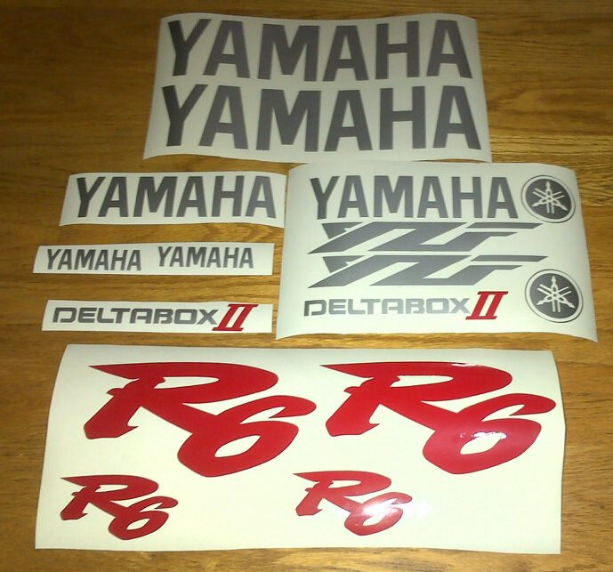 Graphics Decals stickers kit for a 2001 Yamaha YZF  motorcycle