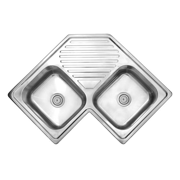Corner Drop-In Sink
