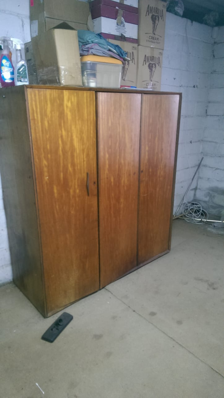 Wardrobe, Chest of Drawers and Single Cabinet