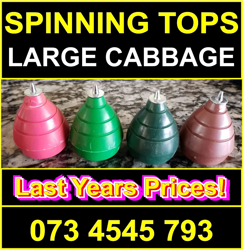 Spinning Tops All Colors Wholesale