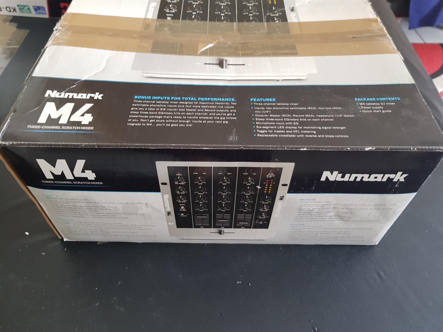 Numark M4 Mixer for SALE