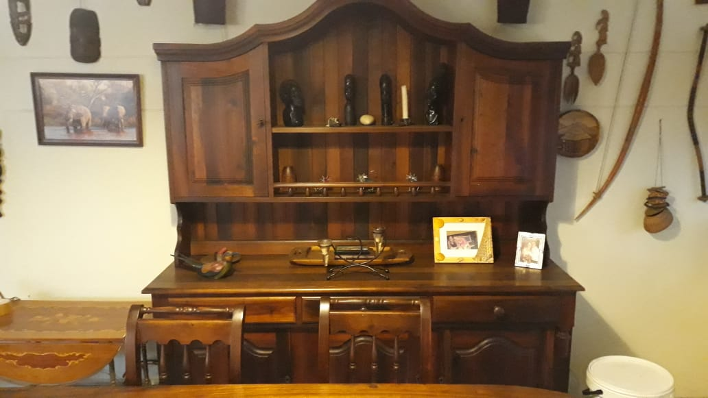 Solid Stinkwood Dining Suite