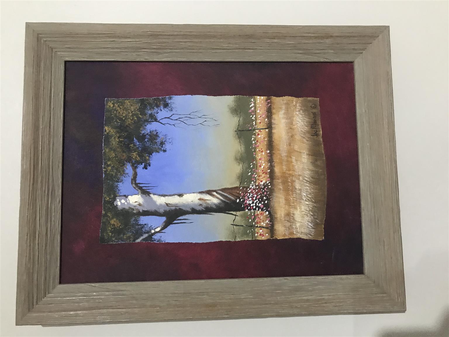 Joe Marais Painting x 2