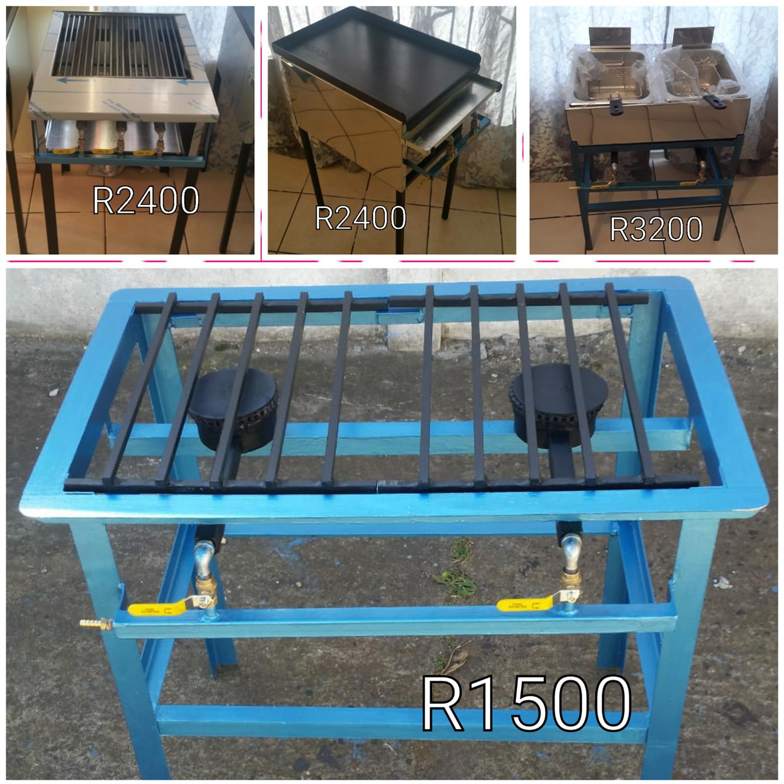 Gas Griller & other catering equipment combo