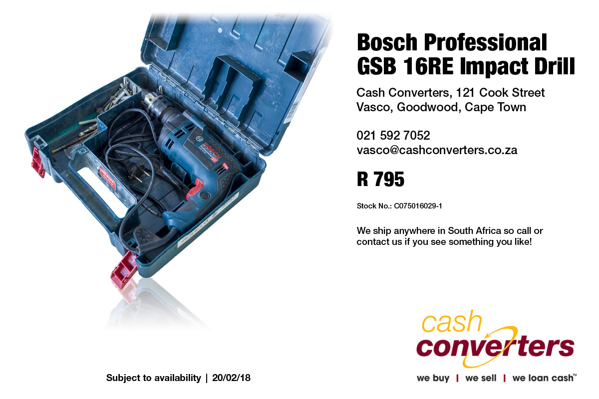 Bosch Professional GSB 16RE Impact Drill
