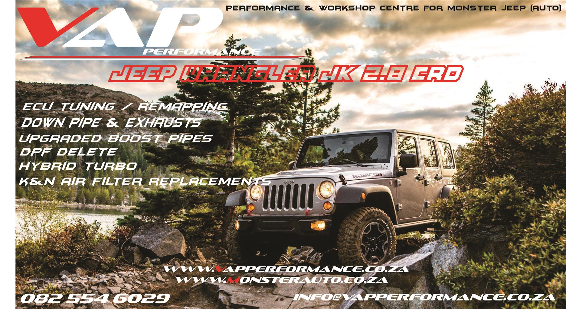Jeep Wrangler JK Tuning / Performance / Remapping