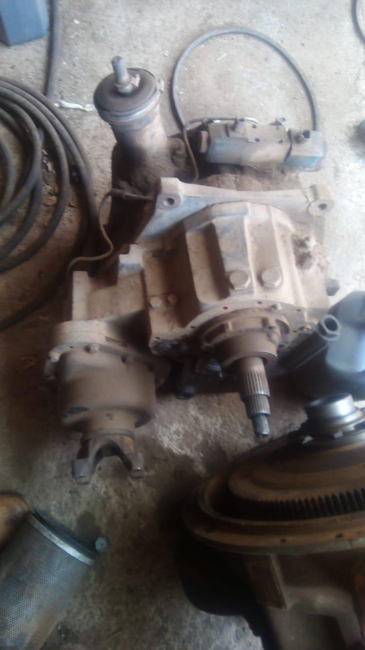JCB 3CX gearbox 4X4