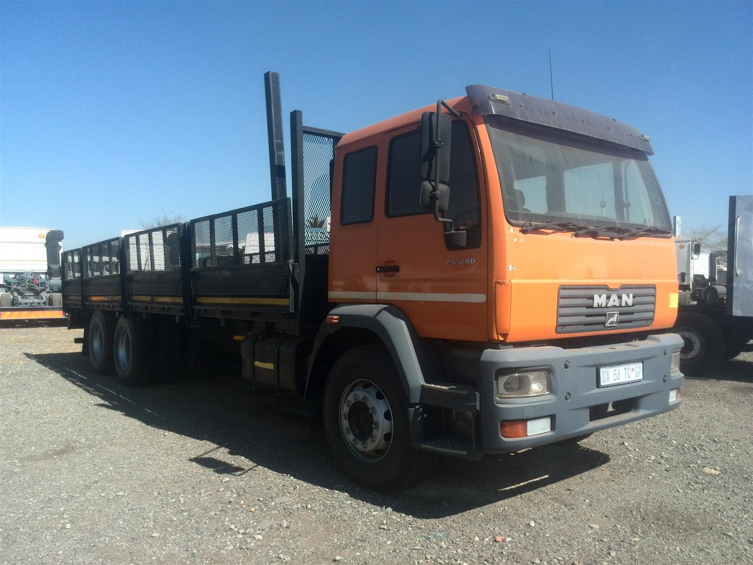 2004 - MAN TRUCK Posted by Lemeshen Pillay UBUNTU Truck sales