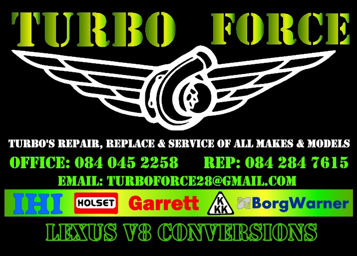 Turbo Force- Service, Repair & Recondition all makes & models