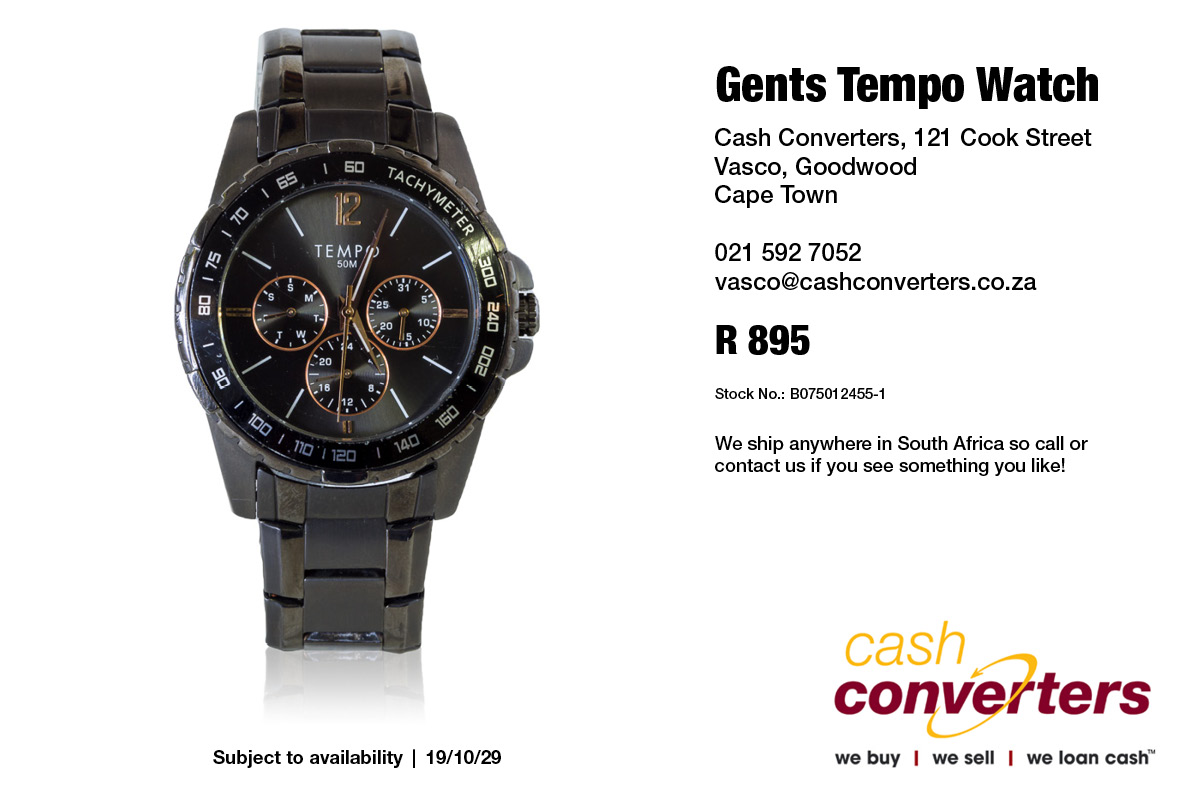 Gents Tempo Watch