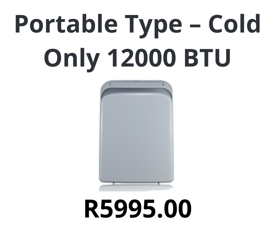 Portable Type – Cold Only 12000 BTU