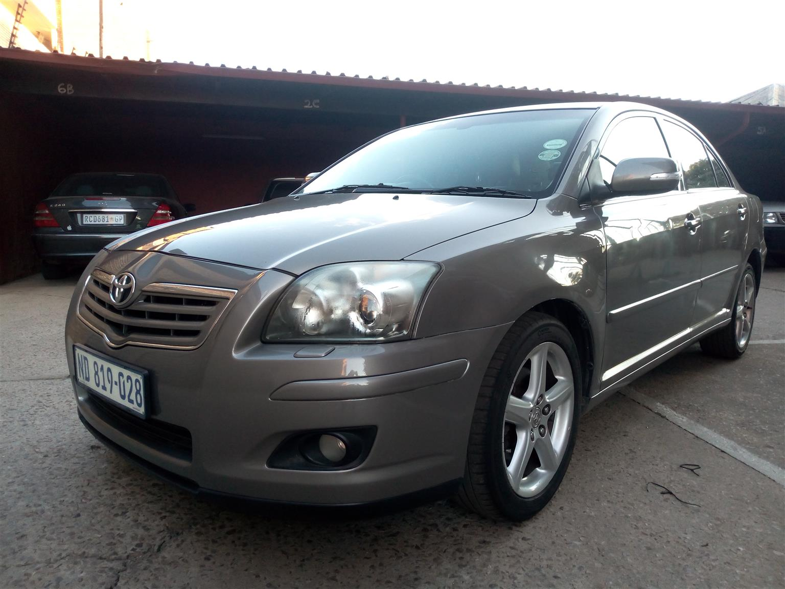 2008 Toyota Avensis 2.2D 4D Exclusive