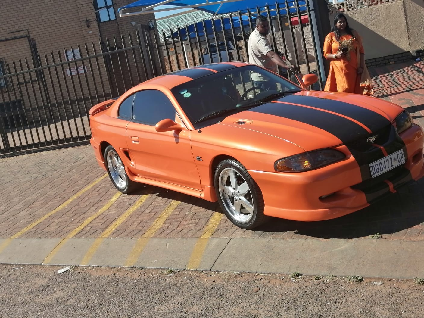 Ford Mustang 95 left hand Drive, manual HO 5.0l v8, 65000km well looked aftered