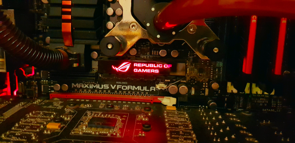 Extreme Gaming PC Asus Republic of Gamers Full Watercooled
