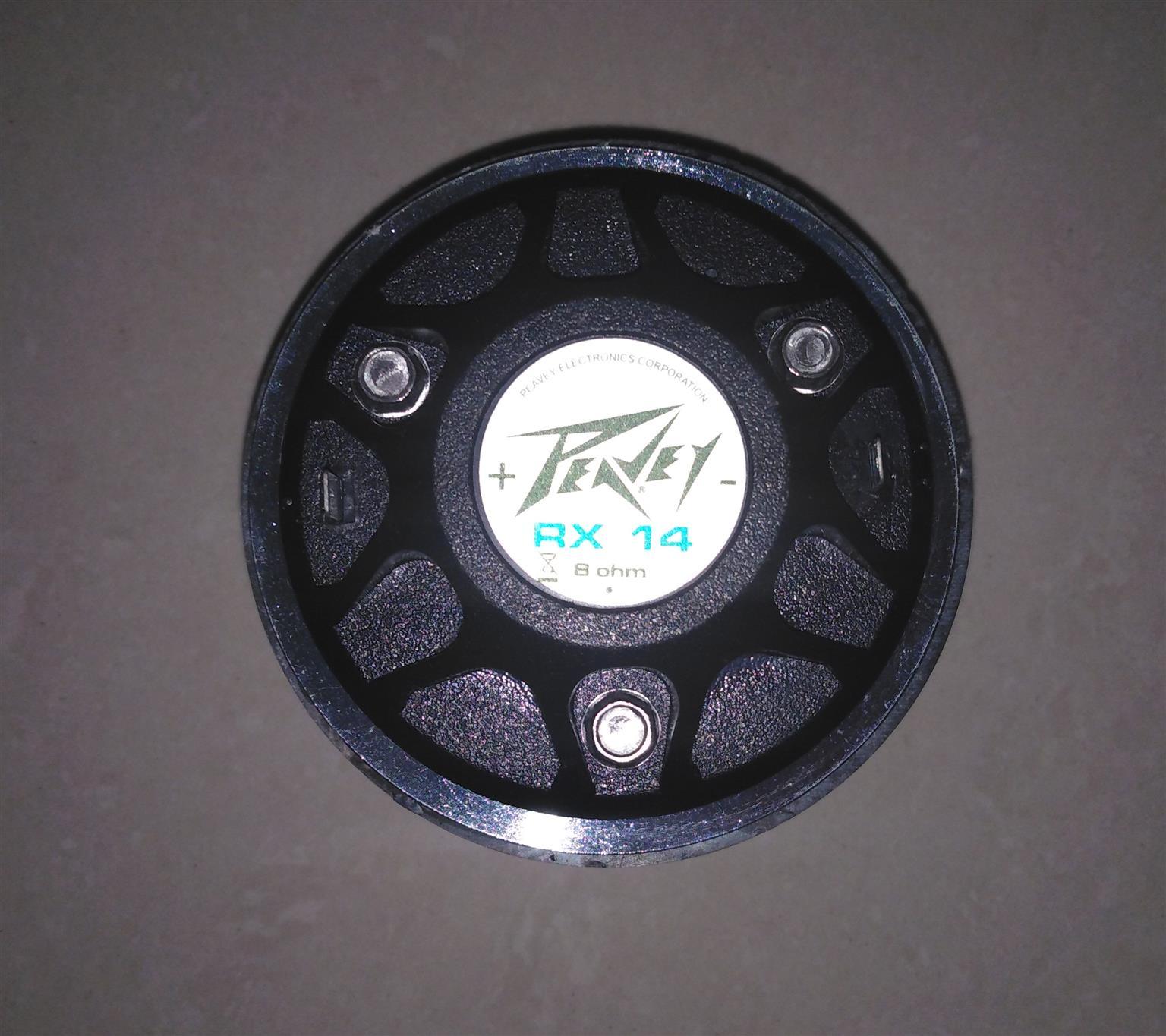 PV RX14 Compression Driver Tweeter