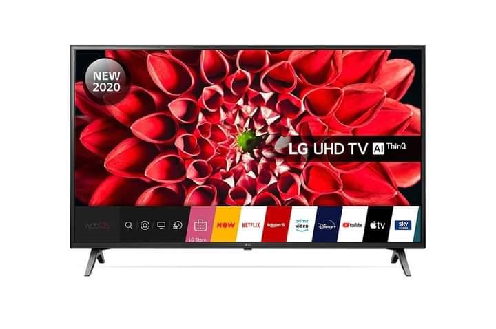 """LG 55"""" UHD SMART TV Ai ThinQ"""