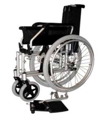 MR WHEELCHAIR SUPALITE: Removable Arm & Foot rests.
