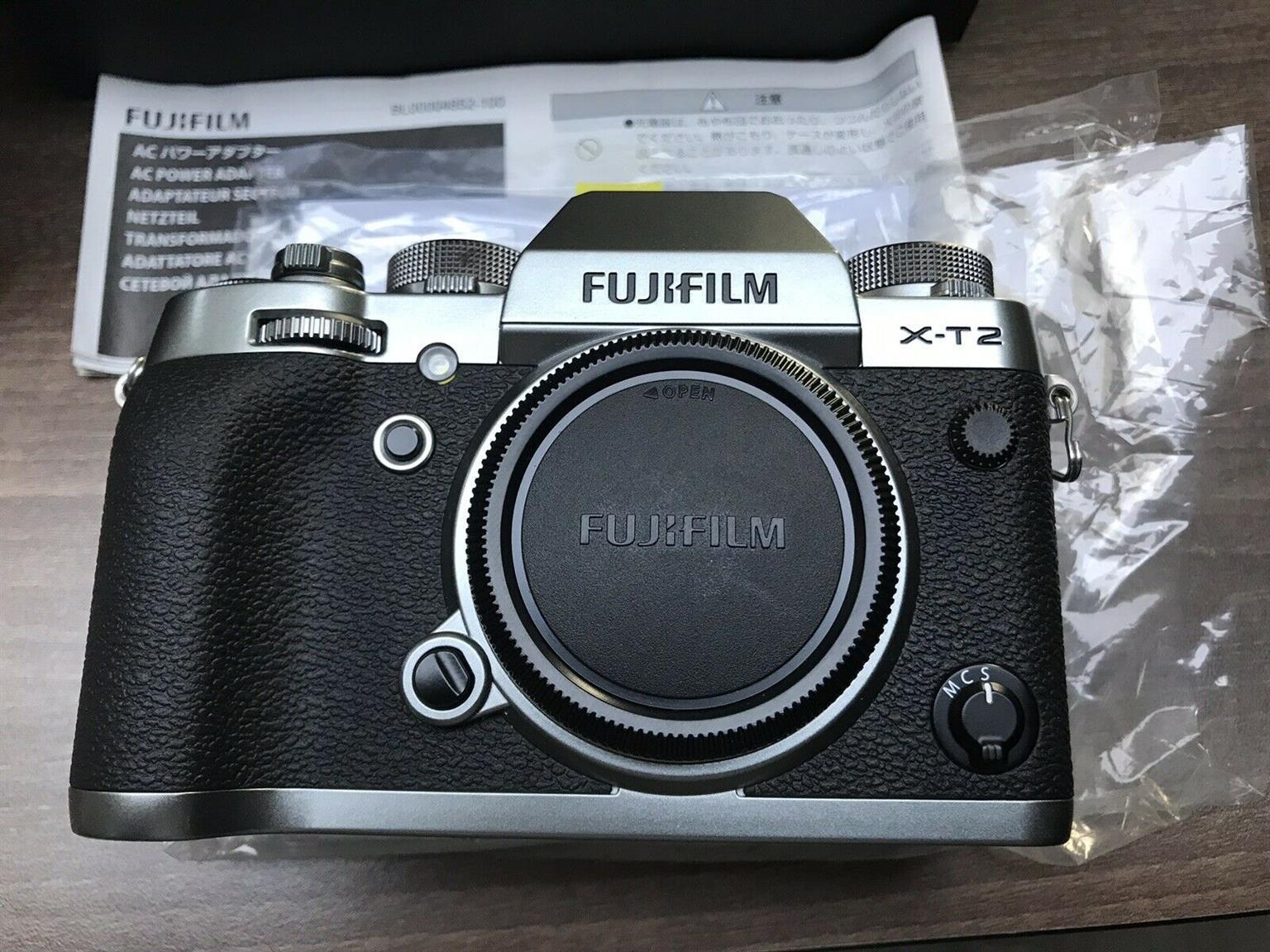 Fujifilm XT2 Body only x series