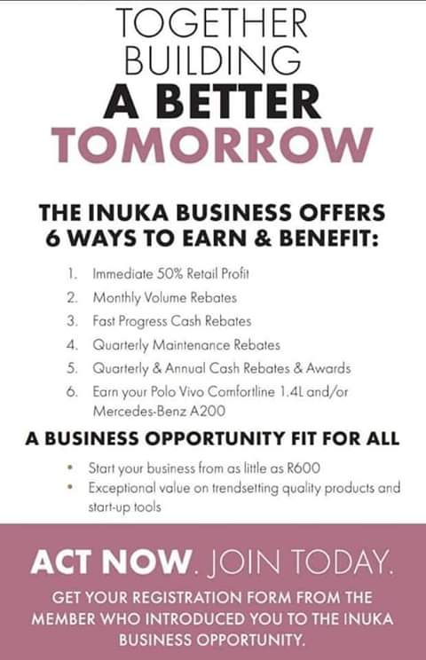 Be your own Boss with INUKA