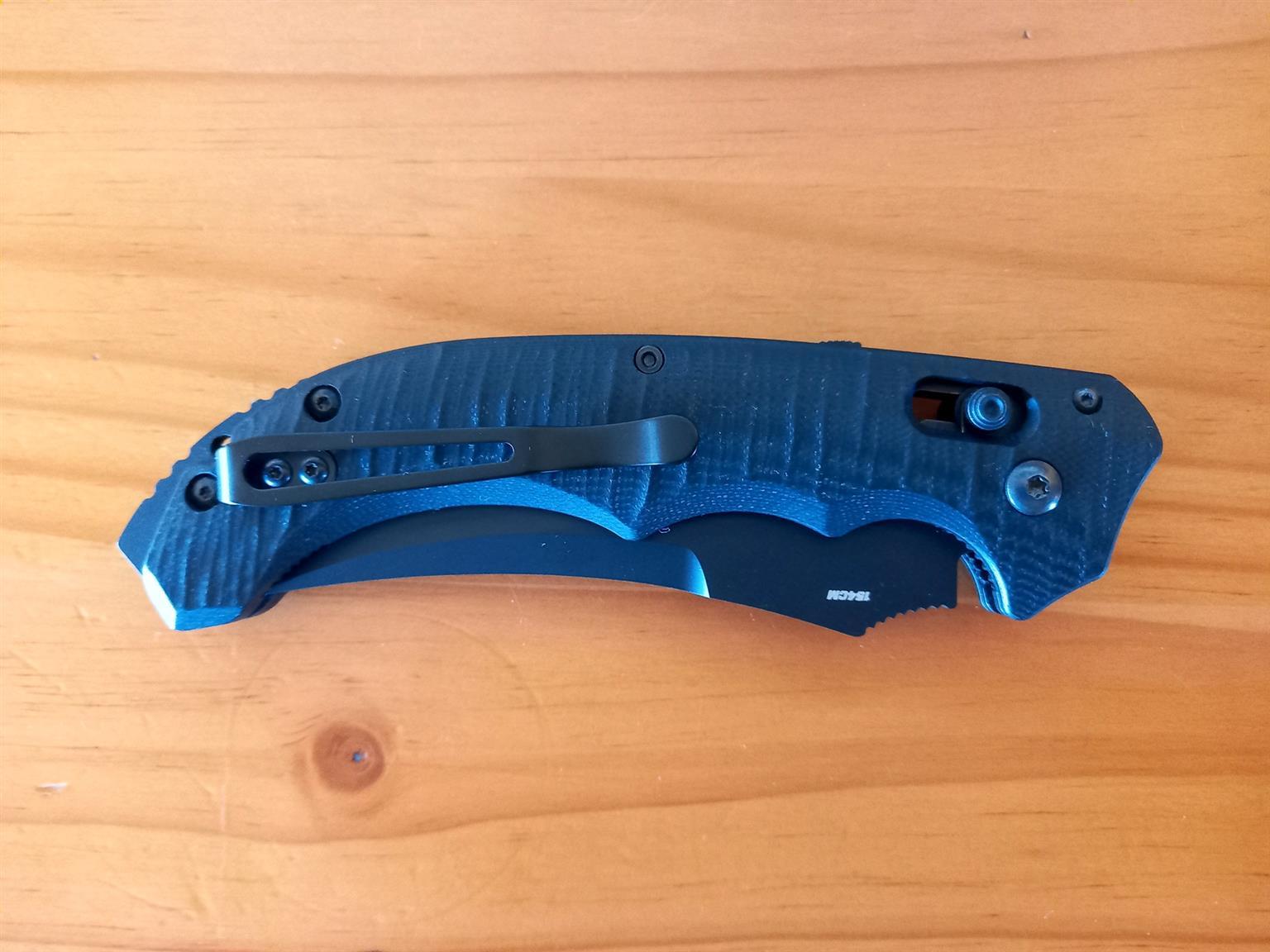 Benchmade Bedlam – 154CM – Tactical Auto Folding Knife