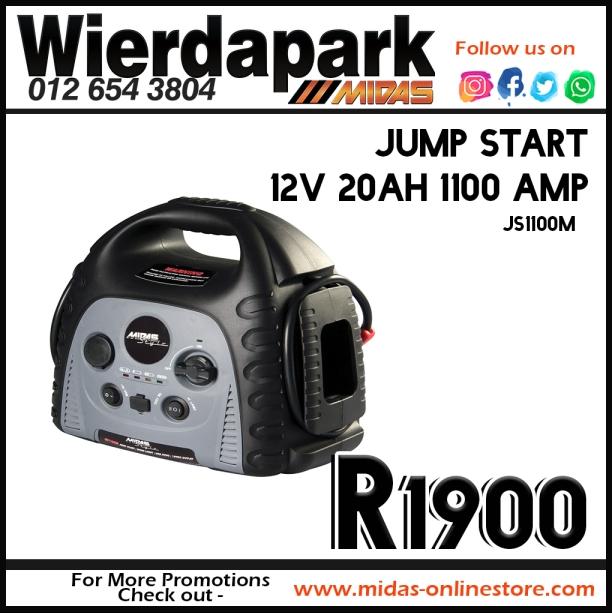 Jump Start 12V 20AH 1100