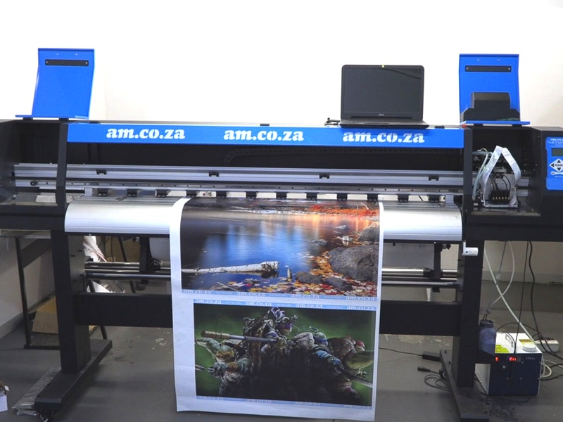 F-1864/ECO FastCOLOUR 1860mm EPSON® DX5 Printhead Large-Format ECO Solvent Ink Inkjet