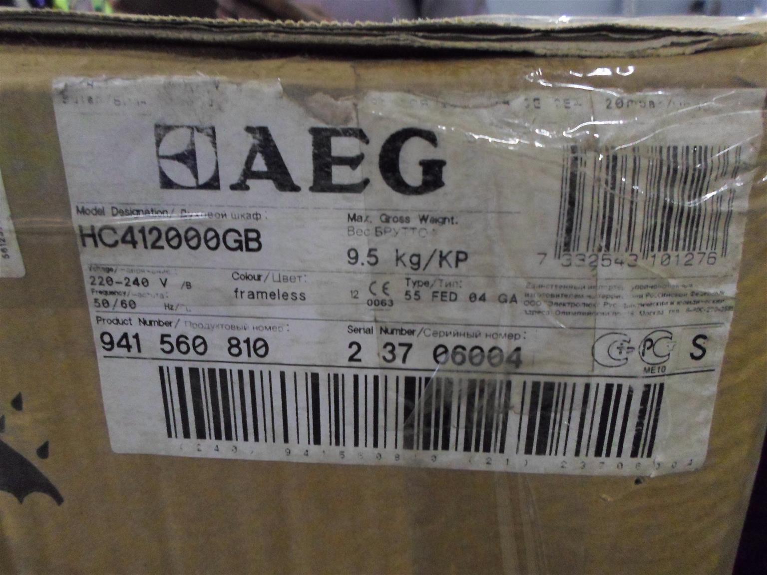 AEG 2 Plate Gas Stove