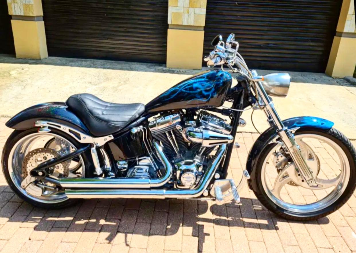 Harley Davidson softail 1450cc. 2000 year model
