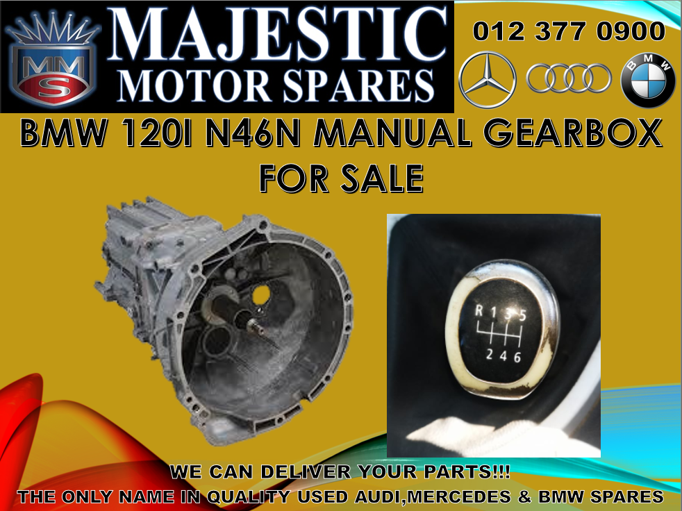 Bmw 120i manual gearbox for sale