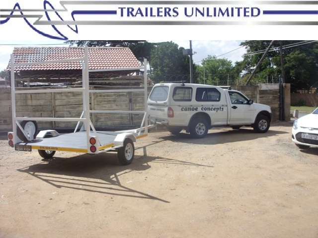 TRAILERS UNLIMITED CANOE TRAILERS.
