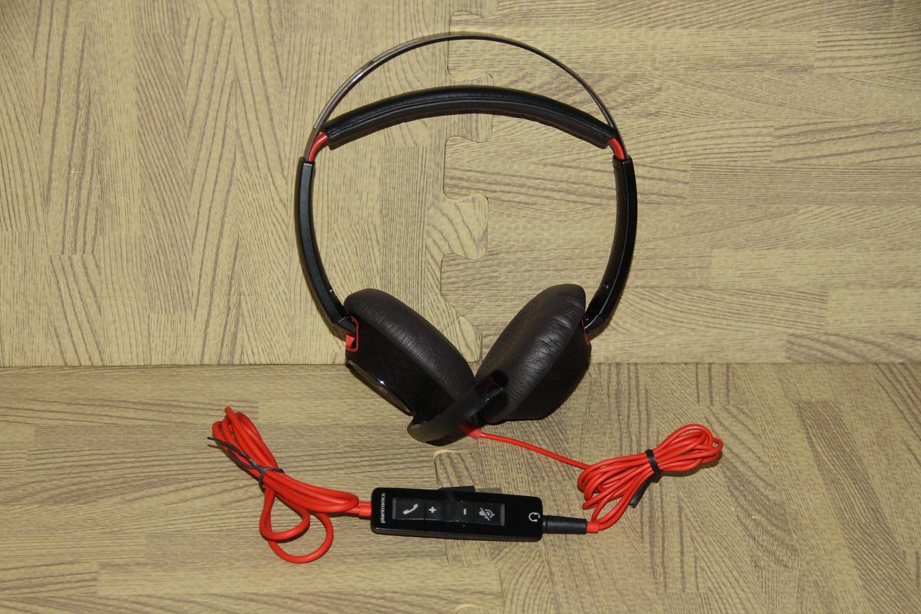 Plantronics Blackwire 5220 USB stereo headset. NEW
