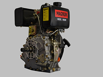 Magnum 173F/5hp Diesel Engine, Horizontal Shaft, Recoil Start price incl vat