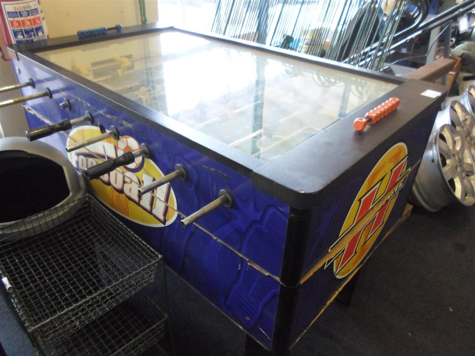 Hurricane Foosball Table