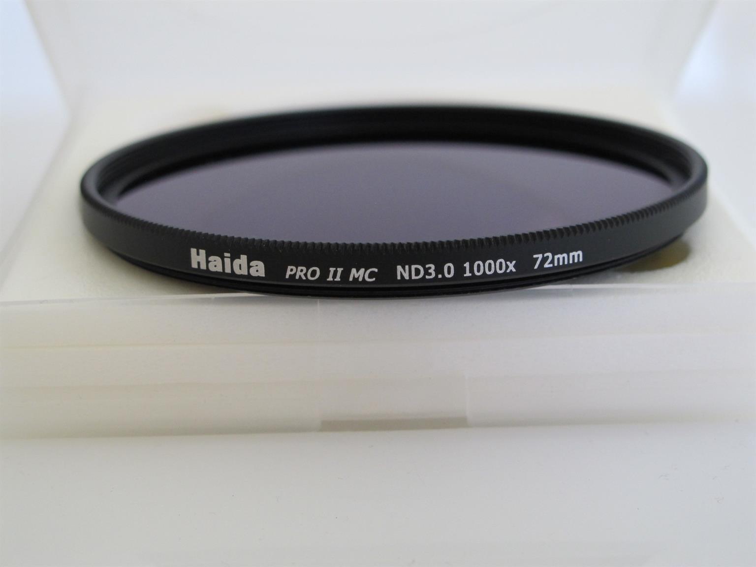Haida PRO-II Multi-Coated | ND3.0 | 10-Stop | Screw-in Neutral Density ND Filter