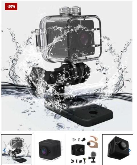 Mini Waterproof Camera + 32GB