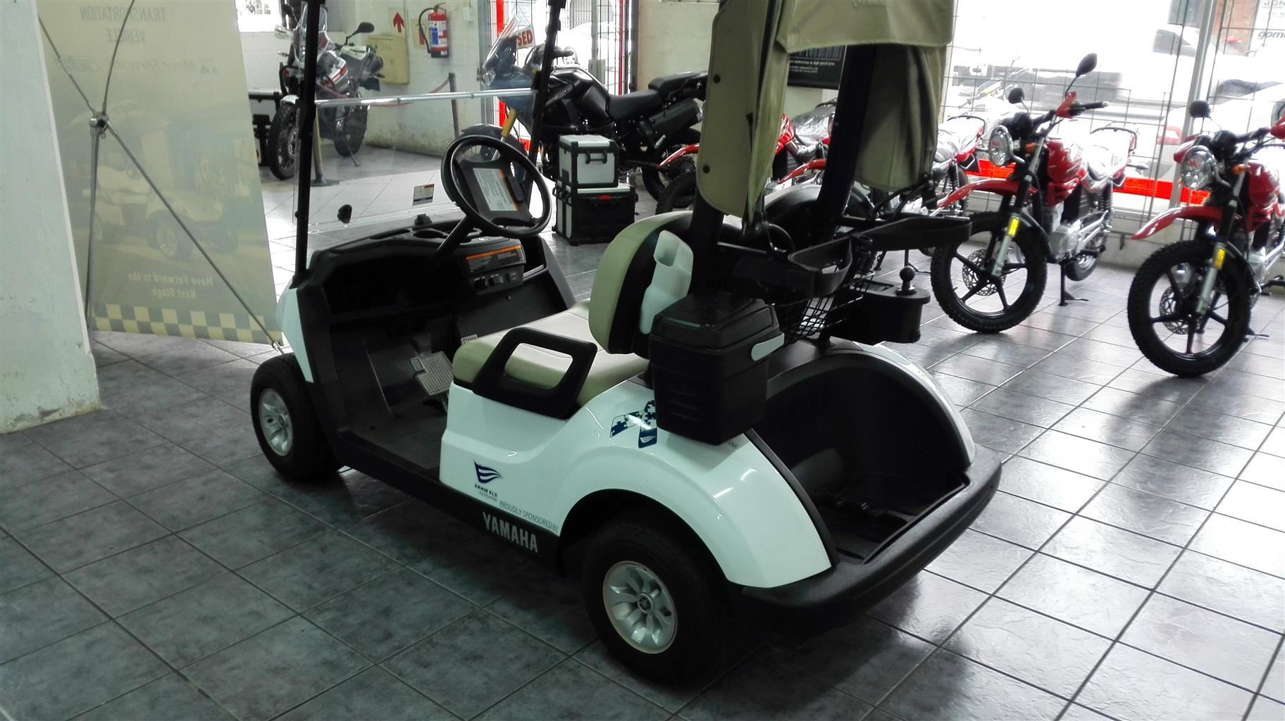 2017 Yamaha Electric Golf Cart. | Junk Mail on golf hole 8, golf lunch sponsor, beverage cart sponsor, golf hole sponsor,