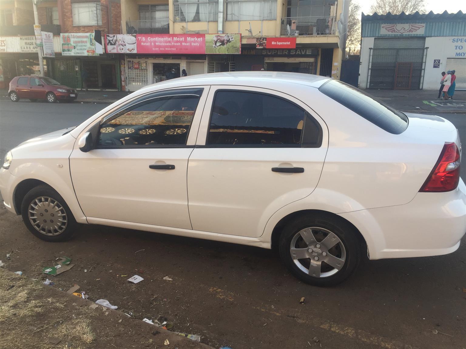 2009 Chevrolet Aveo 1.6 LS sedan