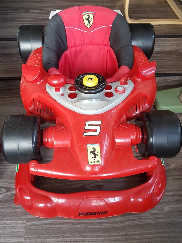 Baby Ferrari Walker Junk Mail