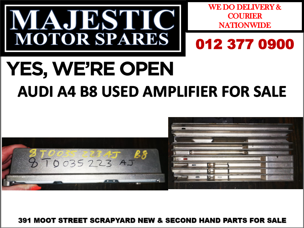 Audi A4 B8 used amplifier for sale