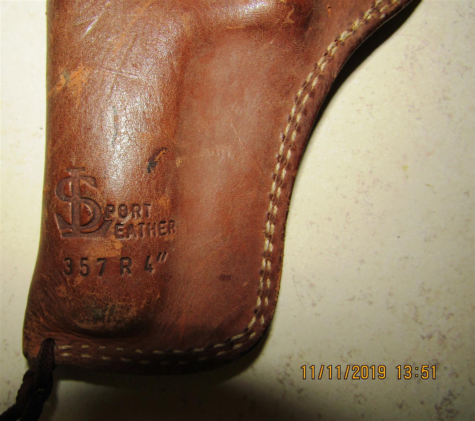Gun Holster - Genuine Leather