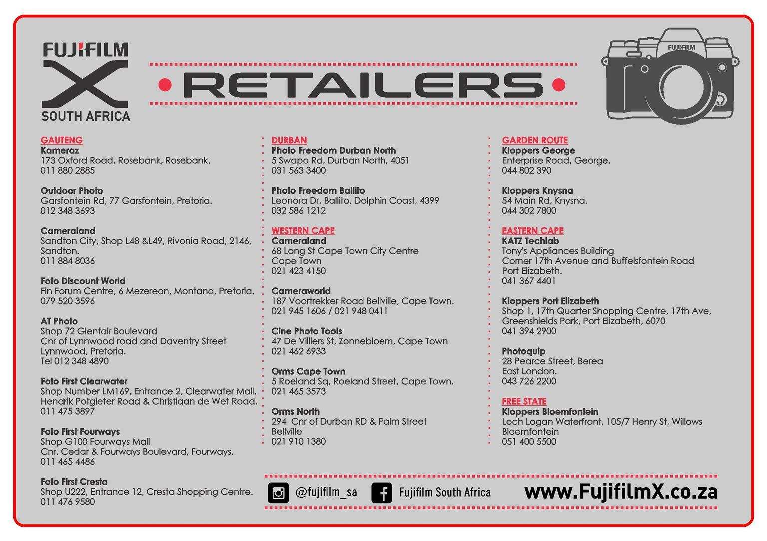 Fujifilm camera & lenses promotion