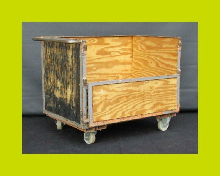Dropside Factory Utility Trolley - SKU 570