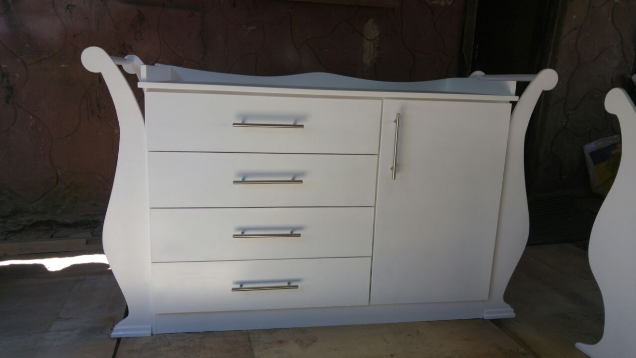 Baby Cot And Compactum Combo Item Code Sur08