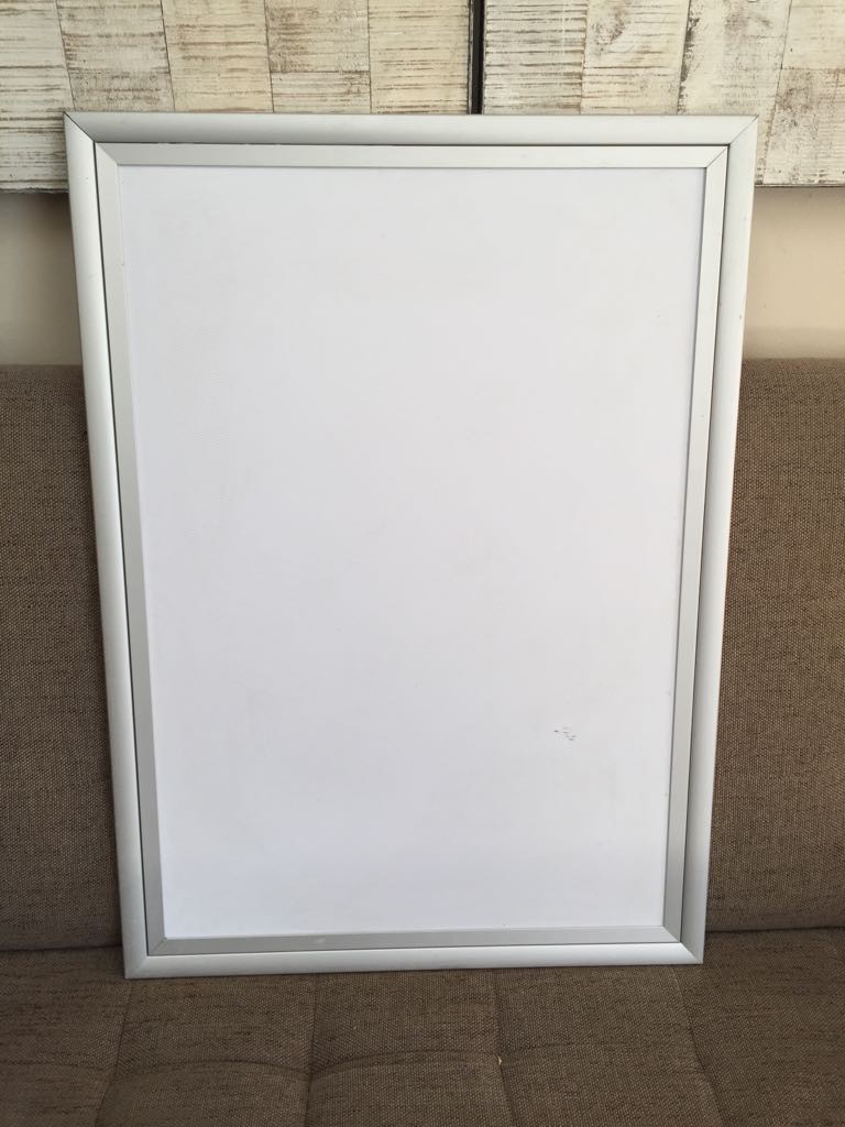 Single aluminium Snapper frame - for marketing & advertising ...