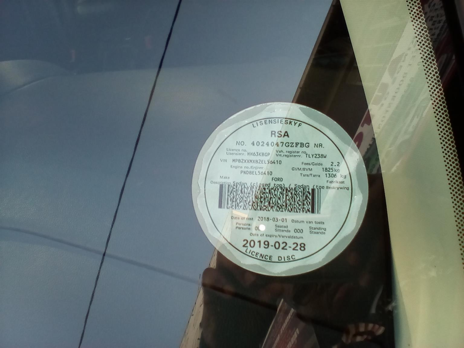 2014 Ford Focus 1.8 sedan Ambiente