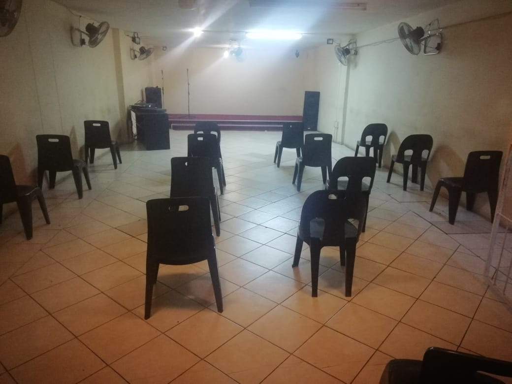 Hall available for rentals (Ideal for church service, events and seminars)