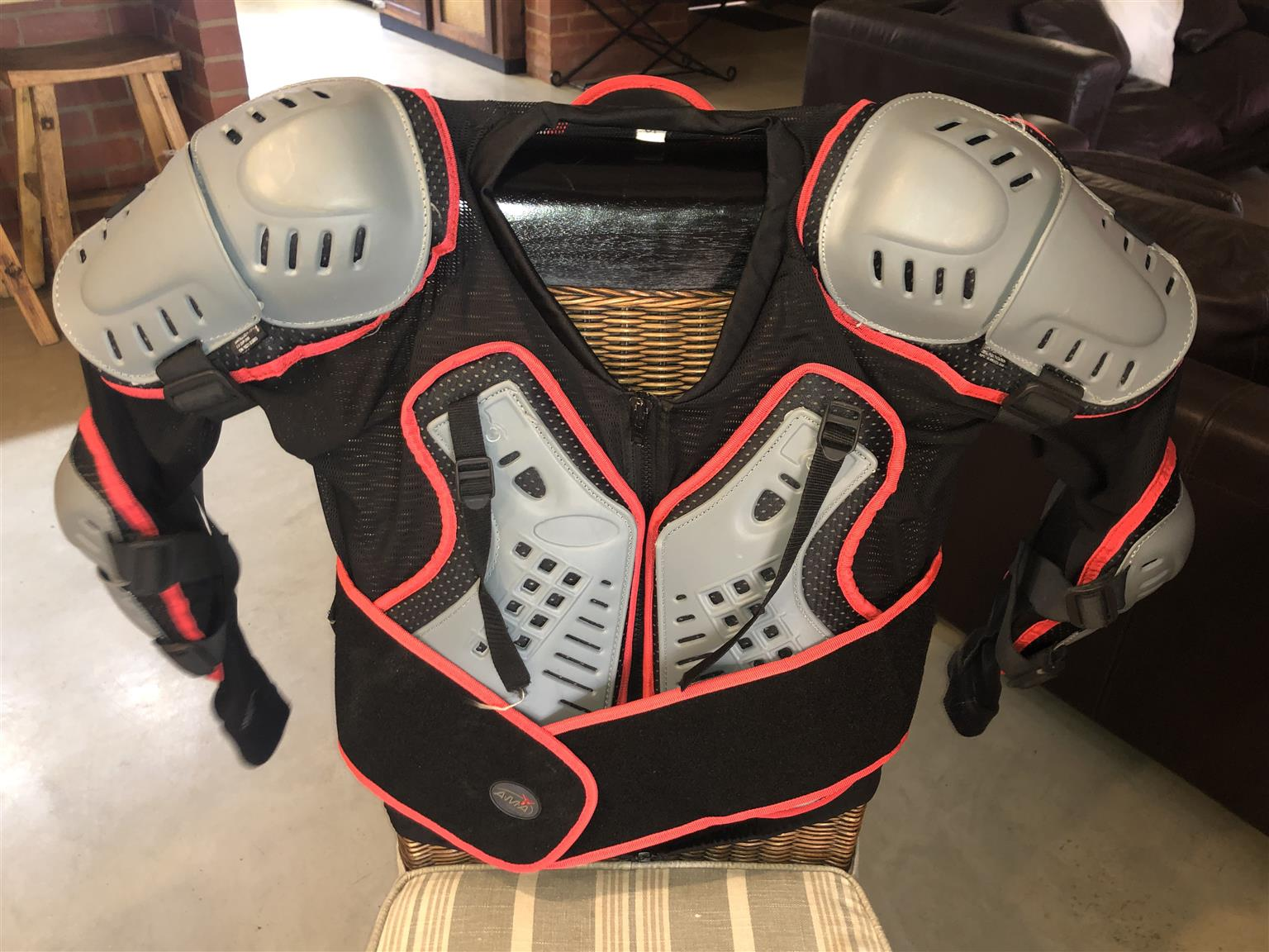 Motorcycle Boots and Chest Protectors